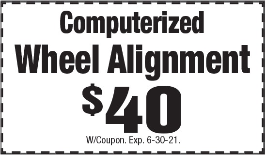 Click to Print- Computerized Wheel Alignment Promotion